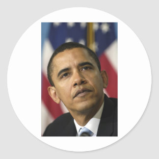 barack-obama-shepard-fairey-original-photo round sticker