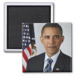 Barack Obama Square Magnet