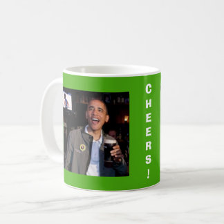 Barack Obama St. Patrick's Day Toast Mug