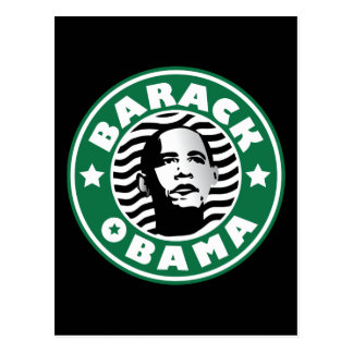 Barack Obama Star Caffeine Post Cards