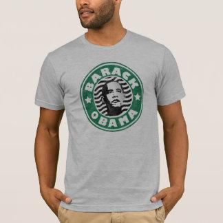 Barack Obama Star Caffeine T-Shirt