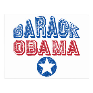 Barack Obama Star Post Card