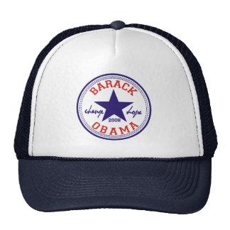 Barack Obama Star Trucker Mesh Hat