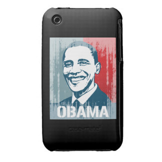 BARACK OBAMA STREET ART iPhone 3 CASE