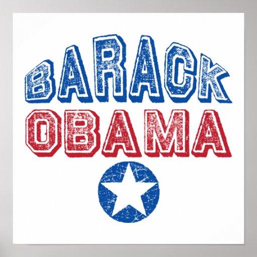 Barack Obama Super Star Presidential Tees Gifts Print