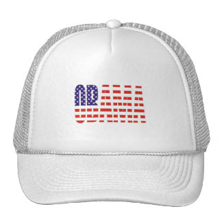 Barack Obama Support USA Flag Tees Gifts Mesh Hat