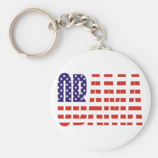 Barack Obama Support USA Flag Tees Gifts Key Chains