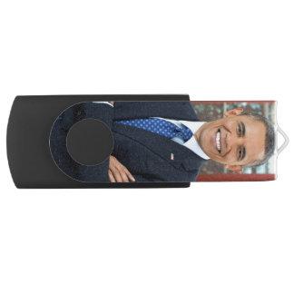 Barack Obama Swivel USB 2.0 Flash Drive