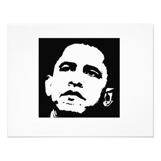 Barack Obama T-shirt Custom Announcements