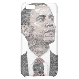Barack Obama Text Portrait 2012 iPhone 5C Case