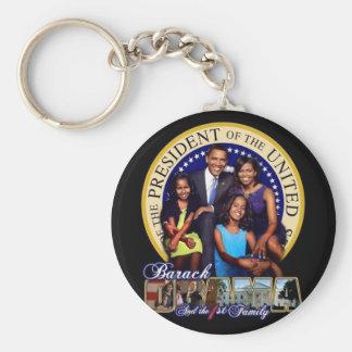 BARACK OBAMA The first family Key Ring