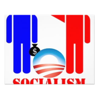 Barack Obama the Socialist Personalized Announcements