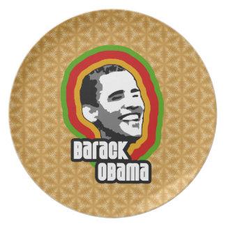 Barack Obama Throwback Plates
