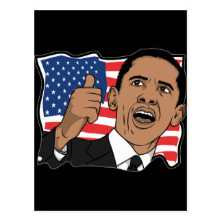 Barack Obama Thumbs Up Postcards