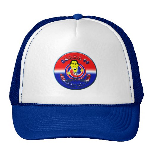 Barack Obama Trucker Cap Trucker Hat
