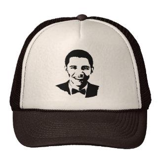 Barack Obama Tuxedo Mesh Hats