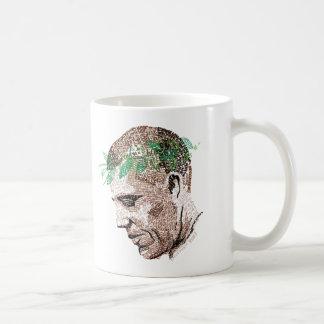 Barack Obama Typographic Coffee Mug