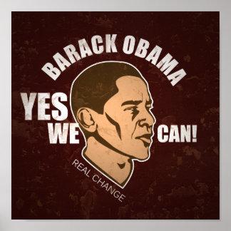 Barack Obama Vintage Poster