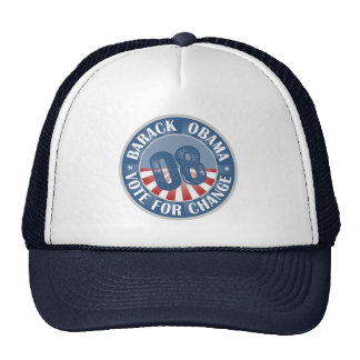Barack Obama Vote For Change Hat