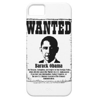 Barack Obama Wanted Poster iPhone 5 Cases