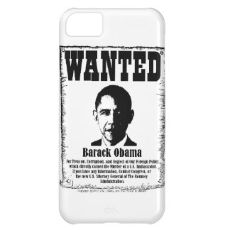 Barack Obama Wanted Poster iPhone 5C Case