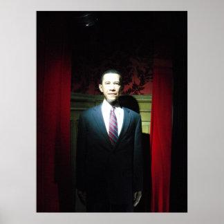 Barack Obama - Waxed Posters