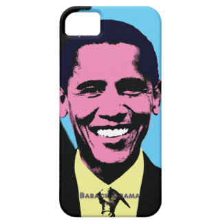 Barack Obama with Pop Art Style iPhone 5 Cover