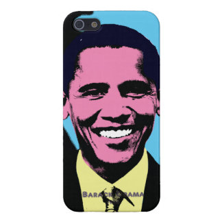 Barack Obama with Pop Art Style Cover For iPhone 5/5S
