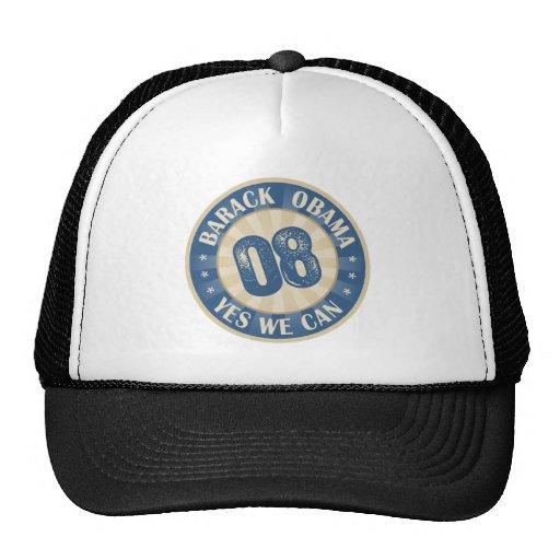 Barack Obama Yes We Can Mesh Hats