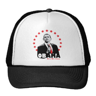 Barack Obama - Yes We Can Mesh Hats