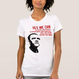 Barack Obama:YES WE CAN T-Shirt