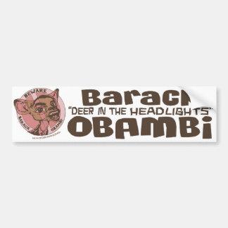 Barack Obambi Deer Bumper Sticker