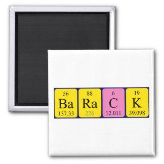 Barack periodic table name magnet