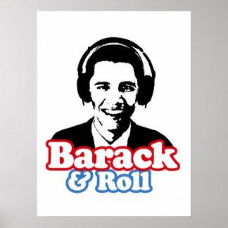 BARACK & ROLL POSTER