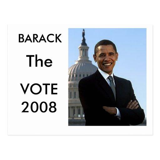 Barack The Vote Postcard