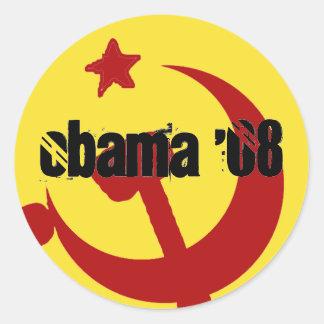 BarackObamaschange, Obama '08, Obama '08 Classic Round Sticker