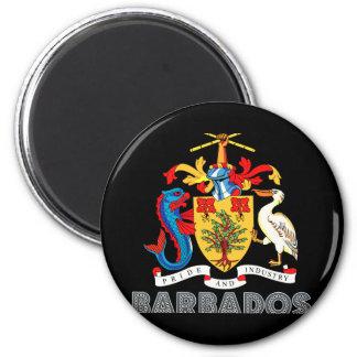 Barbadian Emblem Magnet