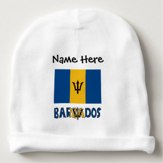 Barbadian Flag and Barbados Baby Beanie