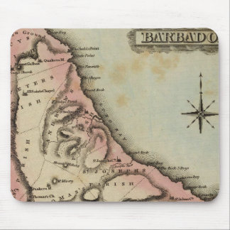 Barbadoes 2 mouse pad