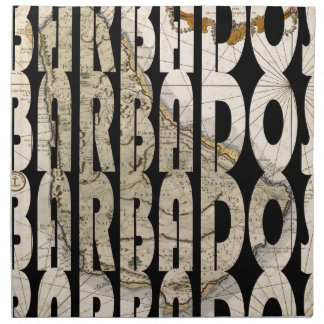 barbados1758 napkin