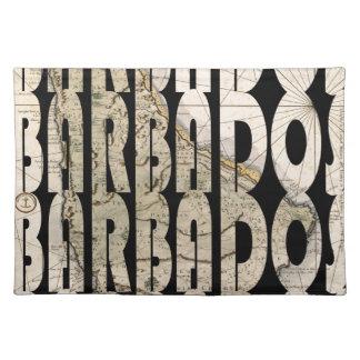 barbados1758 placemat