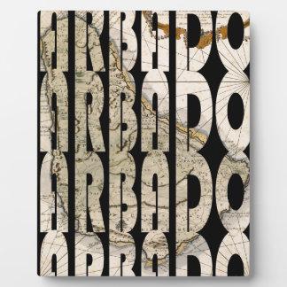 barbados1758 plaque
