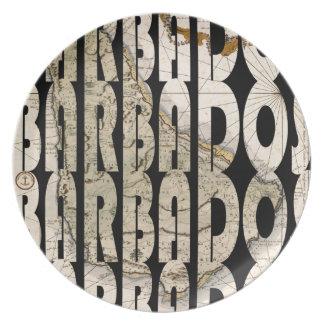 barbados1758 plate