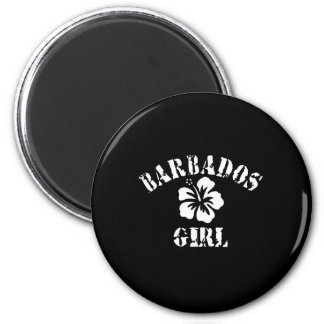 BARBADOS 6 CM ROUND MAGNET