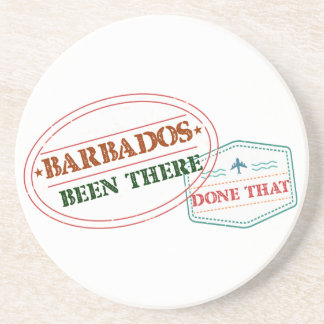 Barbados Been There Done That Coaster