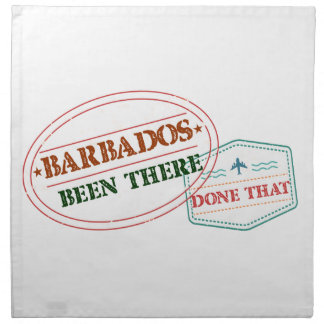Barbados Been There Done That Napkin