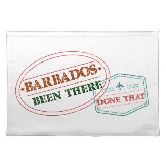 Barbados Been There Done That Placemat