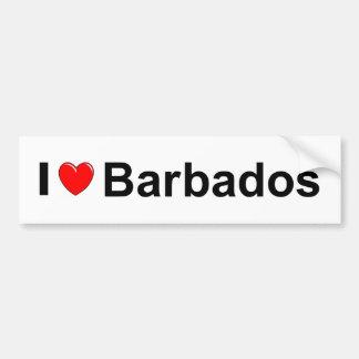 Barbados Bumper Sticker