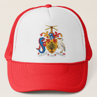 Barbados Coat of Arms detail Trucker Hat