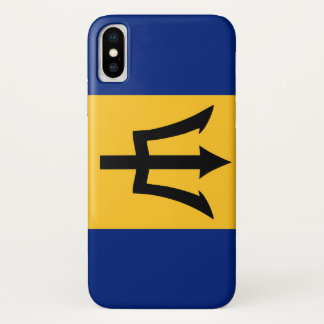 Barbados country flag symbol long iPhone x case